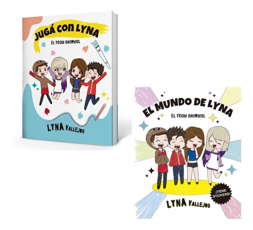 Pack Mundo De Lyna + Jugá Con Lyna - Team Anormal - Vallejos