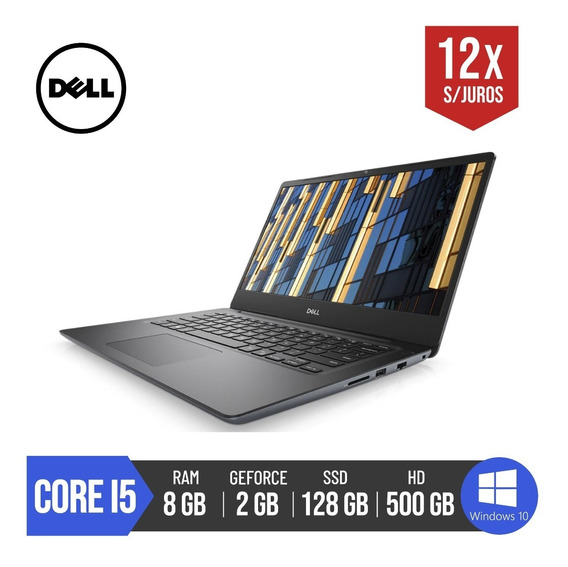 Notebook Dell Gamer Core I5 2gb Geforce 128ssd 8gb Ram