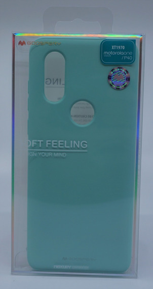Funda Motorola One Vision Mercury Goospery Soft Feeling