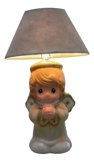 Centro De Mesa Bautizo Baby Shower Lámpara Recuerdo Angel