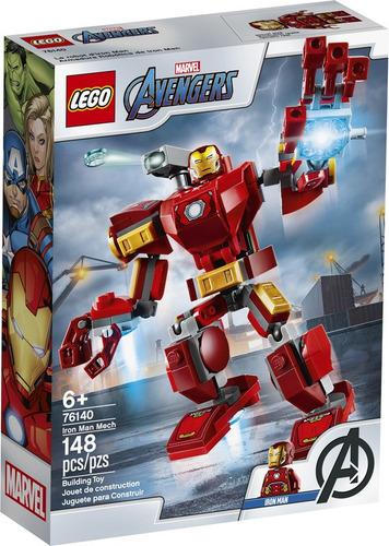 Imagen 1 de 6 de Lego Super Heroes - Armadura Robótica De Iron Man (76140)