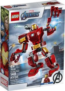 Lego Super Heroes - Armadura Robótica De Iron Man (76140)