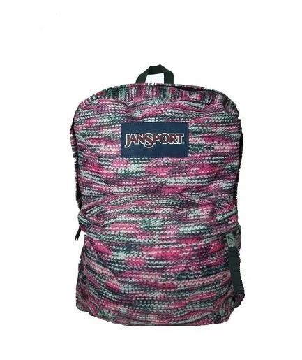 Jansport Superbreak Mochila Multi Sweater Magenta