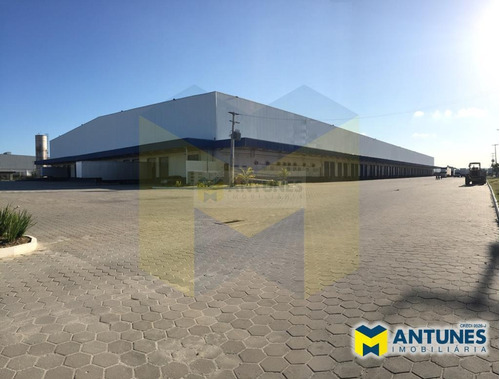 Imagem 1 de 11 de Alugue Galpão Com 15.000m², Em Prazeres Condomínio Logístico - Ga-0537