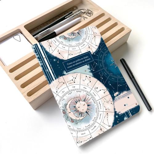 Cuaderno Rayado Astrología A5 - Mil Letterpress