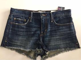 Shorts Jeans Abercrombie Tam 2 W26- Brasil 42