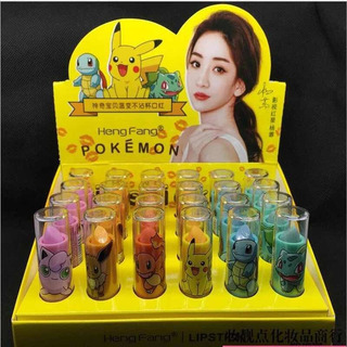 Pack De 24 Labiales Mágicos Pokemon Kawaii