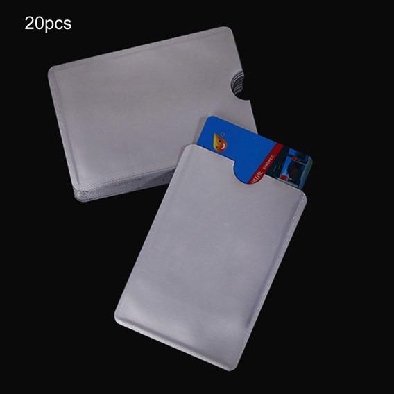 20pcs Id Card Set Foil Anti-degaussing Banco Blindaje Nfc
