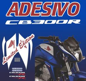 Adesivo Honda Cb 300r Azul 2014