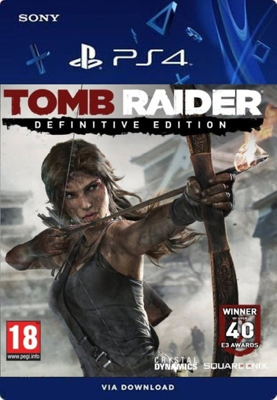 Tomb Raider Definitive Edition Ps4 /digital /original1