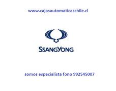 Reparación De Cajas Automáticas Ssangyong Gran Experiencia