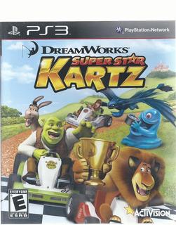 Super Star Kartz Para Play Station 3 Disco Físico