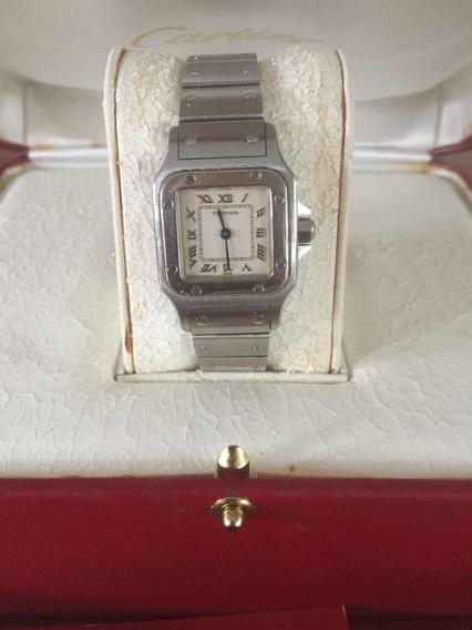 Relógio Feminino Cartier + Carteira Original (oportunidade)