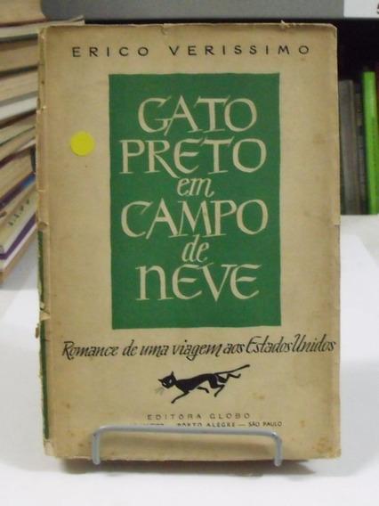 Livro Gato Preto Em Campo De Neve - Érico Veríssimo