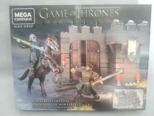 Imagen 1 de 2 de Batalla De Winterfell Juego De Tronos Mega Construx