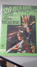 Livro 20 Peças Faceis P/piano A 4 Mãos