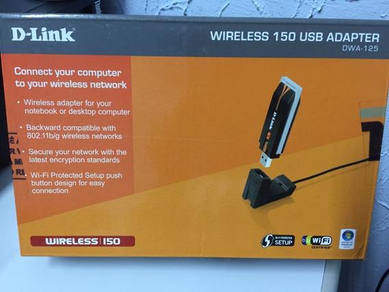 Adaptador Wireless D-link Dwa-125 - Usado