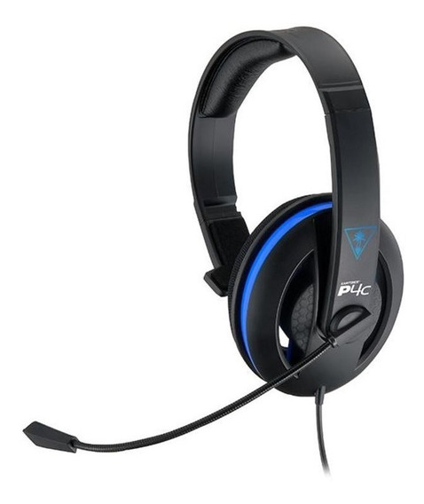 Headset Turtle Beach Ear Force P4c Ps4 Playstation 4
