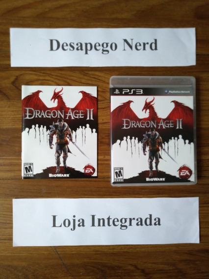 Dragon Age Ii - Jogo Para Ps3 - Mídia Física