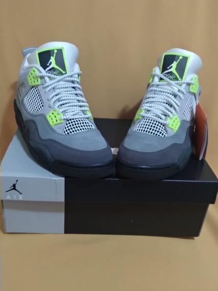 Nike Air Jordan 4 Retro Se 95 Neon