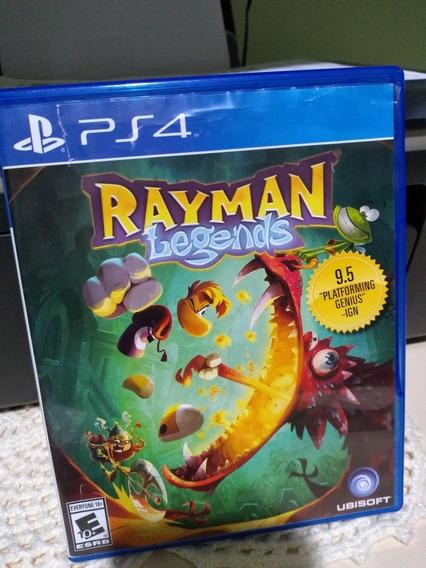 Jogo Rayman Legends Ps4 Mídia Física Disco