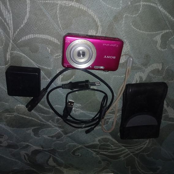 Camera Digital Na Cor Rosa