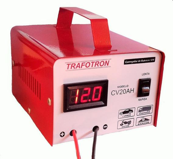 Fonte Automotiva Carregador De Bateria 12v Cv20 Frete Gratis