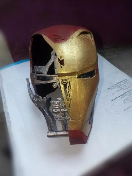 Iron Man Casco Endgame Impreso 3d