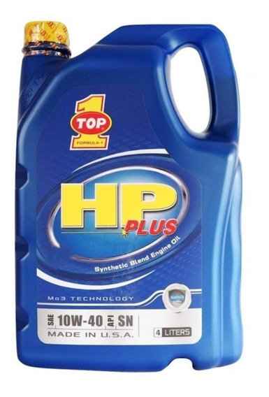 Aceite Top 1 Hp Plus 10w30 Semi-sintético Galon