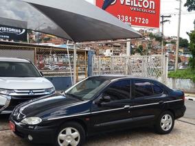 Renault Megane Sedan 2.0 Rxe 4p 2000 Completo
