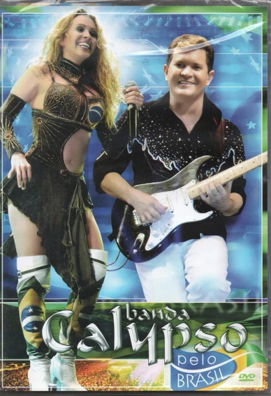 Dvd Banda Calypso - Pelo Brasil - Lacrado Frete Fixo