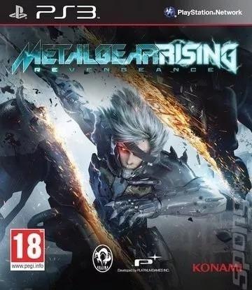 Metal Gear Rising Ps3 Midia Fisica