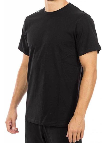 Remera Volga Short Sleeve Negro Hombre Kappa