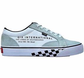 Tênis Qix Dt Originals Cinza / Branco