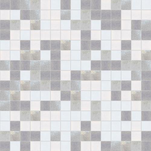 Imagen 1 de 3 de Lámina Venecitas Mosaicos Italianos  Mix Gris