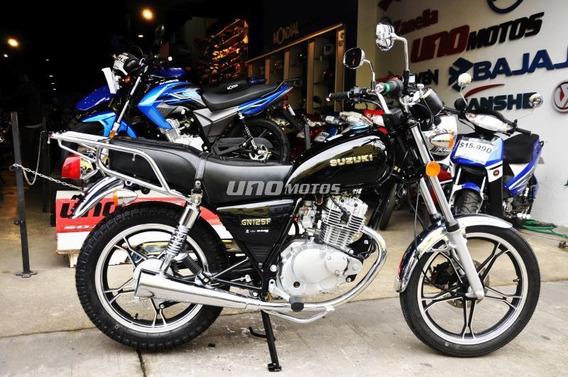 Suzuki Gn 125 H 0km Oferta Marzo 2020 Custom