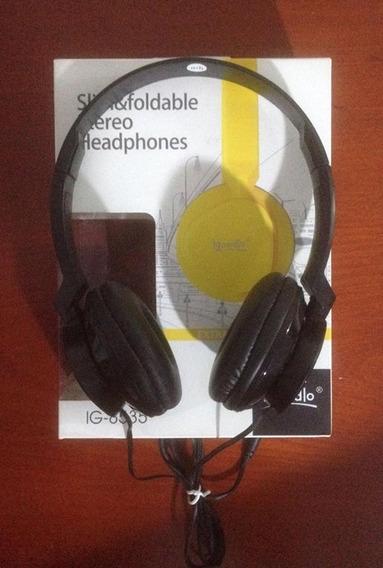Headphone Preto Da Igoodlo