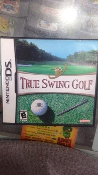 True Swing Golf Nintendo Ds Usado