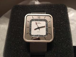 Reloj Dama Montreal De Acero Modelo Ml335