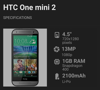 Celular Htc One Mine 2