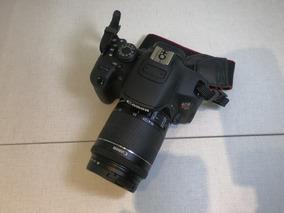 Câmera Eos Rebel T5i Kit Com Case Da Vanguard