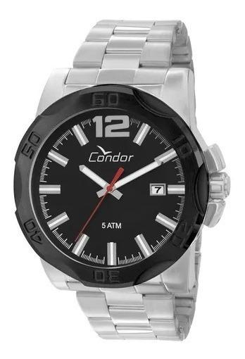 Relógio Condor Masculino Prata Co2415ab/3p