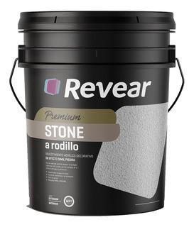 Revear Stone A Rodillo Revestimiento Acrilico 30kg Rex