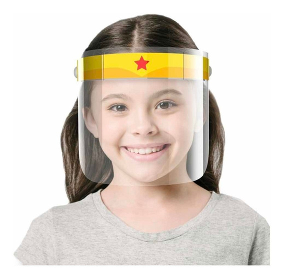 Máscara Infantil De Proteção Facial Anti-cuspir Face Suky