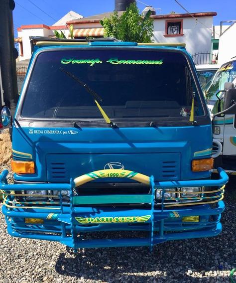 Super Oferta Camion Daihatsu Delta 1998 Cama Cortta Azul