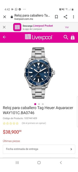Reloj Tag Aquaracer