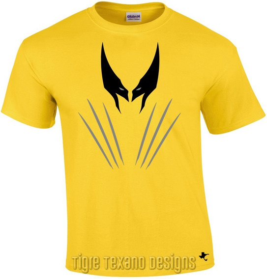 Playera Super Héroes Wolverine By Tigre Texano Designs