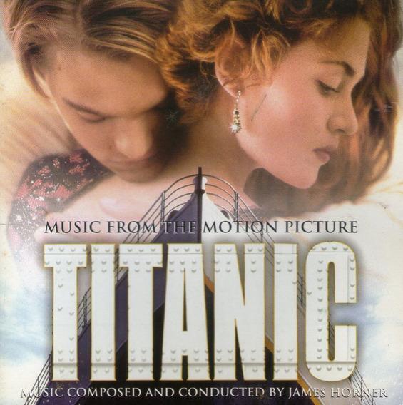 Cd Titanic - Trilha Sonora Do Filme - Novo Lacrado***