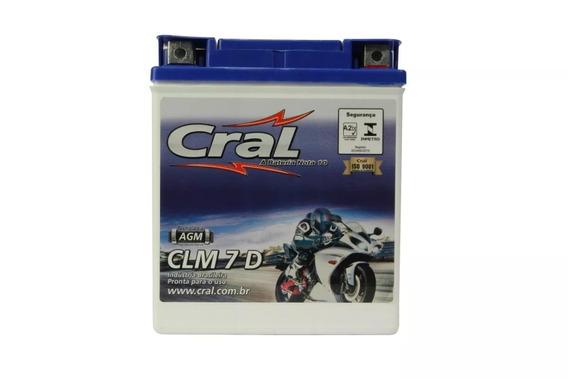 Bateria Selada Cral Moto 7 7ah Flahs Seta / Hunter Max 125