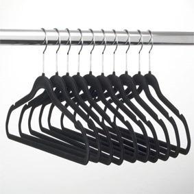 Cabides Em Veludo Kit Com 60 Para Roupas Femininas Seda Fina